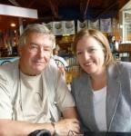 Joe Wilson and Emily Kaltenback